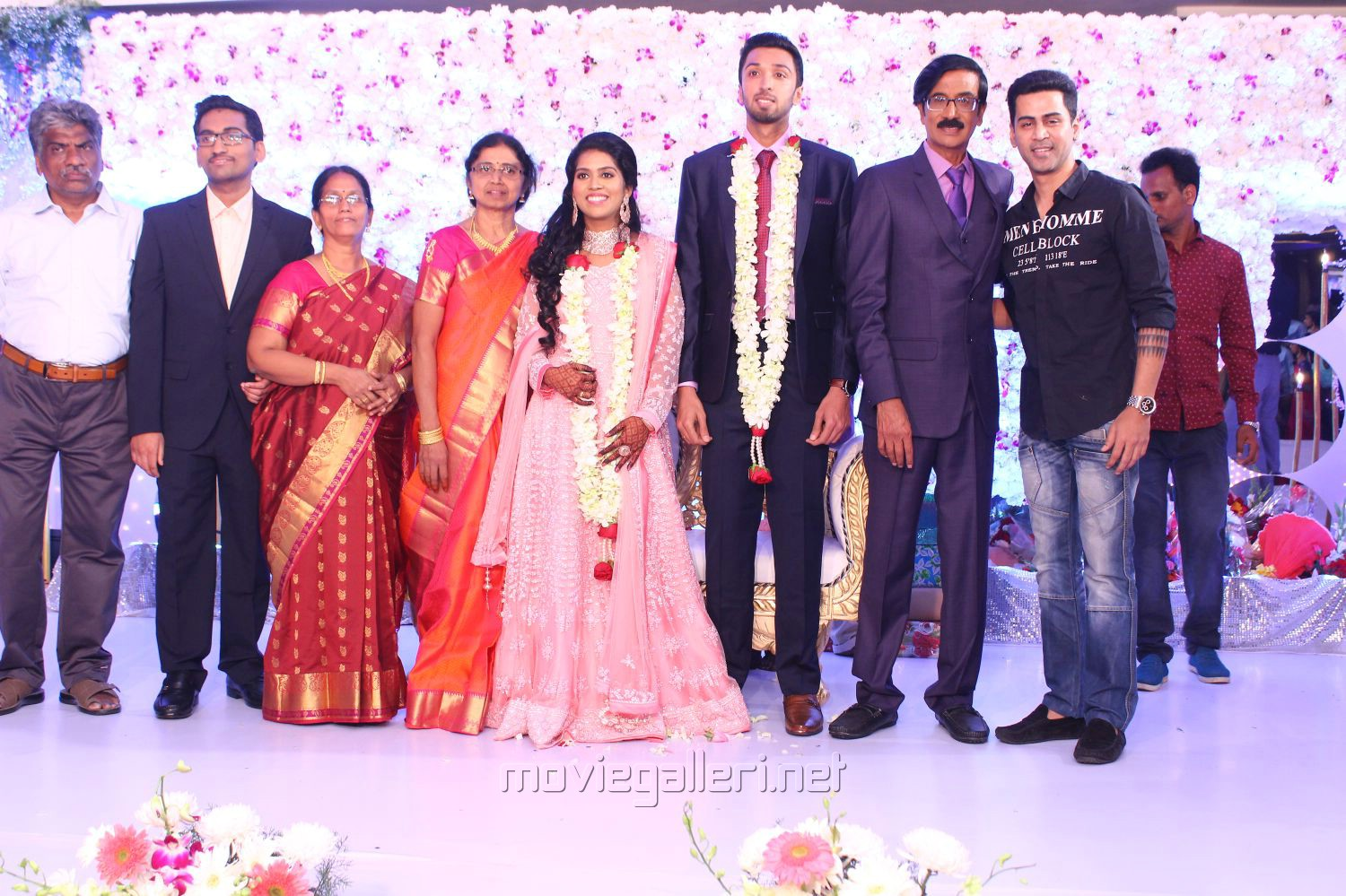 Krish @ Manobala Son Harish Priya Wedding Reception Stills