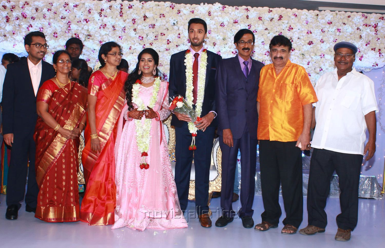 Ramesh Khanna @ Manobala Son Harish Priya Wedding Reception Stills