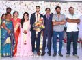 Natty Natraj @ Manobala Son Harish Priya Wedding Reception Stills
