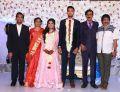 Chitra Lakmanan @ Manobala Son Harish Priya Wedding Reception Stills