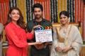 Kajal Aggarwal, Shiva Kandukuri, Megha Akash @ Manu Charitra Movie Launch Stills