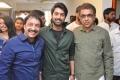 Raj, Shiva Kandukuri, Bekkam Venugopal @ Manu Charitra Movie Launch Stills
