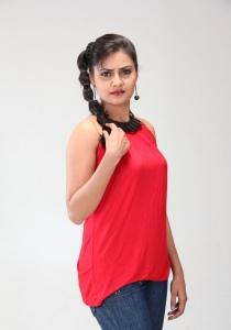 Manumika in Red Dreaa Photo Shoot Stills