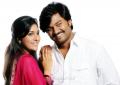 Rashmi Gautam, Lollu Sabha Jeeva in Mappillai Vinayagam Movie Stills