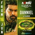 Daniel Annie Pope in Maragatha Naanayam Movie Release Posters