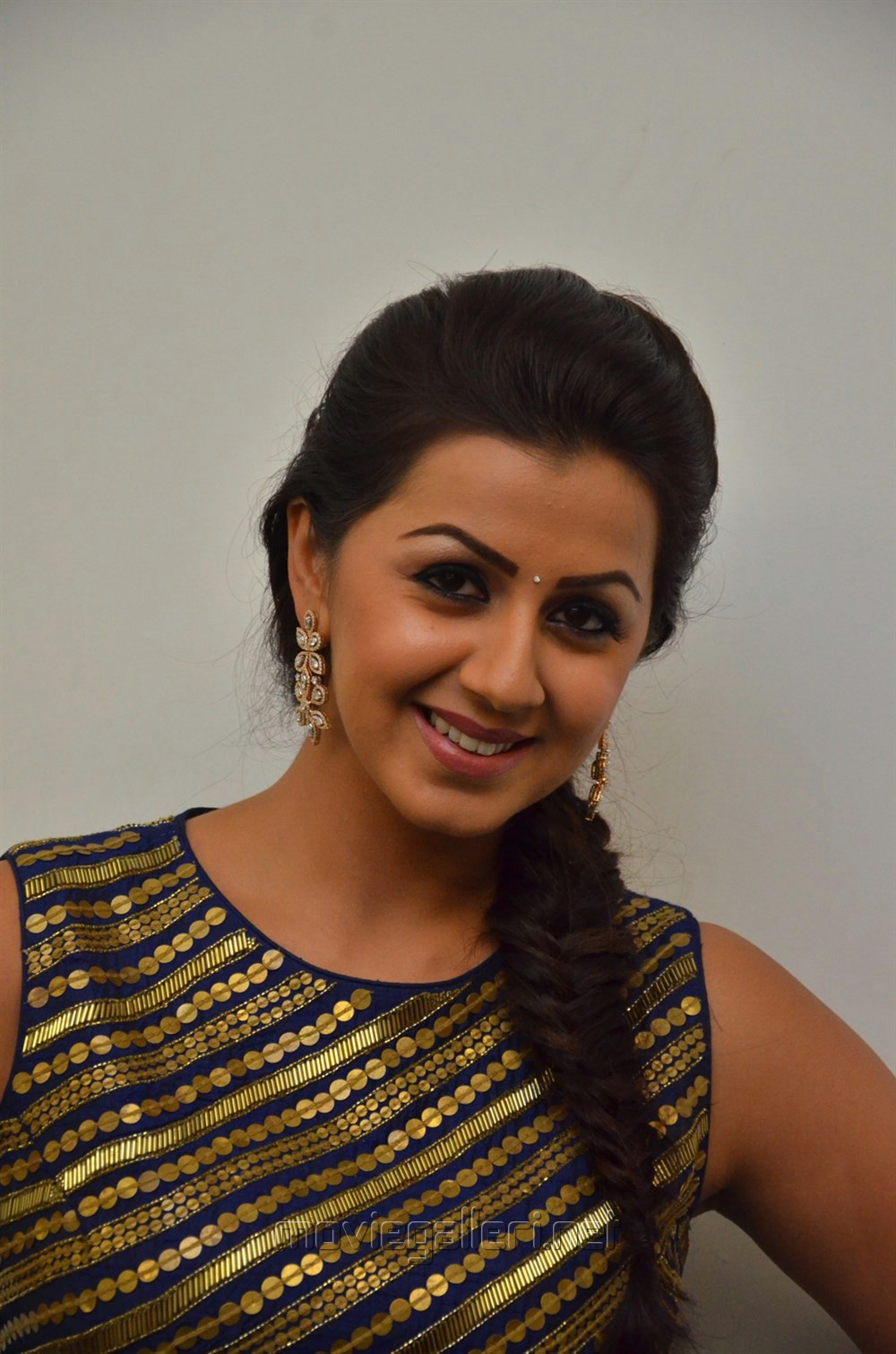 Actress Nikki Galrani @ Maragatha Naanayam Thanks Meet Stills