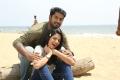 Dhruva, Aishwarya Dutta in Marainthirunthu Paarkum Marmam Enna Movie New Pics