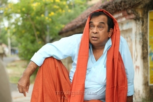 Actor Brahmanandam in Marakathamani Movie Stills