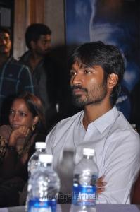 Actor Dhanush at Maranthen Mannithen Movie Audio Launch Stills