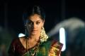 Actress Tapsee Silk Saree in Maranthen Mannithen Movie Stills