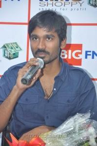 Actor Dhanush @ Mariyaan Movie Team at BIG FM Photos