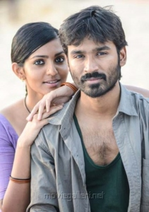 Parvathi Menon, Dhanush in Mariyaan Tamil Movie Stills