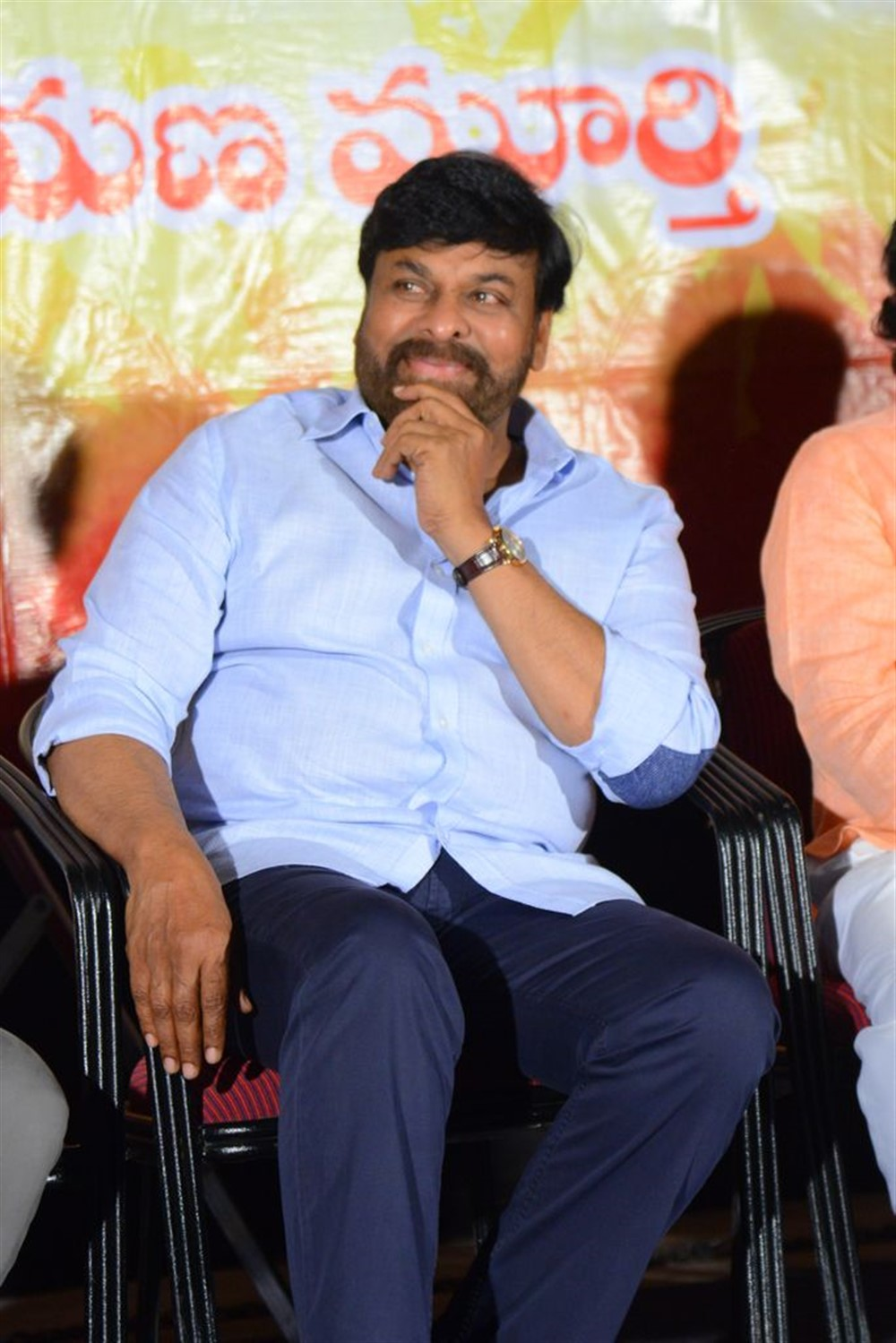 Chiranjeevi @ Marketlo Prajaswamyam Audio Launch Stills