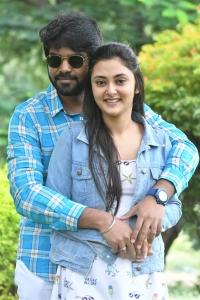 Megha Choudhary, Abhay Adaka @ Marshal Movie Success Meet Stills