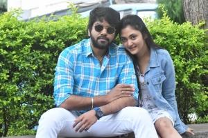 Megha Chowdhury, Abhay Adaka @ Marshal Movie Success Meet Stills