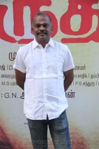 Cinematographer Velraj @ Marudhu Movie Press Meet Photos