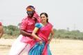 Vishal, Sri Divya in Marudhu Movie Stills