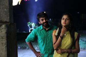Maruthi, Mrudhula Basker in Marumunai Movie Photos