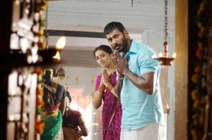 Sri Divya, Vishal in Maruthu Movie Photos