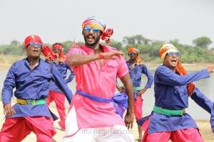 Actor Vishal in Maruthu Movie Photos