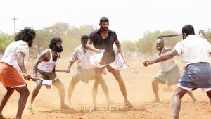 Actor Vishal in Marudhu Movie Photos