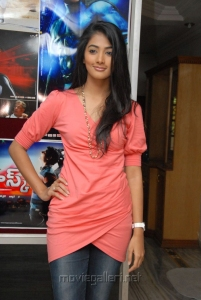 Actress Pooja Hegde at Mask Movie Press Meet Stills