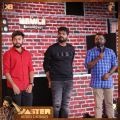 Vishnu, Vignesh Shivan, Arunraja Kamaraj @ Master Audio Launch Stills