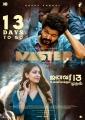 Vijay, Malavika Mohanan in Master Movie Release Posters HD