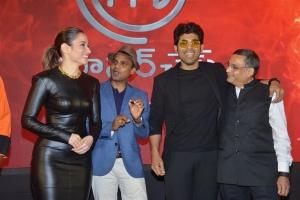Tamanna, Allu Sirish @ MasterChef Telugu Press Meet Stills