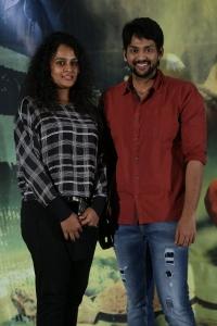 Sonia Deepti, Dileep @ Maya Mall Movie Success Meet Stills