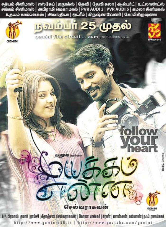 Mayakkam Enna Movie Posters