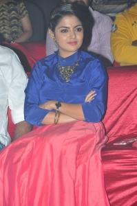 Actress Nikhila Vimal @ Meda Meeda Abbayi Movie Pre Release Event Stills