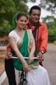 Saloni, Prudhvi Raj in Meelo Evaru Koteeswarudu Movie Stills