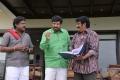 Posani Krishna Murali, Raghu Babu in Meelo Evaru Koteeswarudu Movie Stills
