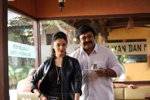 Pooja Kumar, Prabhu in Meen Kuzhambum Man Paanaiyum Movie Stills