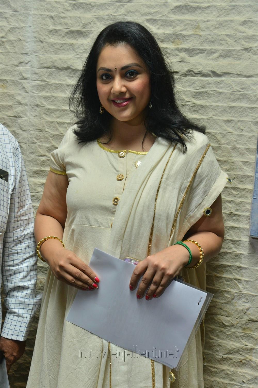 Actress Meena Stills @ TSR National Film Awards 2018 Press Meet
