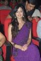 Actress Meenakshi Dikshit in Purple Saree Photos