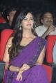 Telugu Actress Meenakshi Dixit Violet Saree Photos