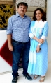 Director Darpan-Mr.Suleman Hirani with his wife Zeenat Hirani @ Darpan Furnishings