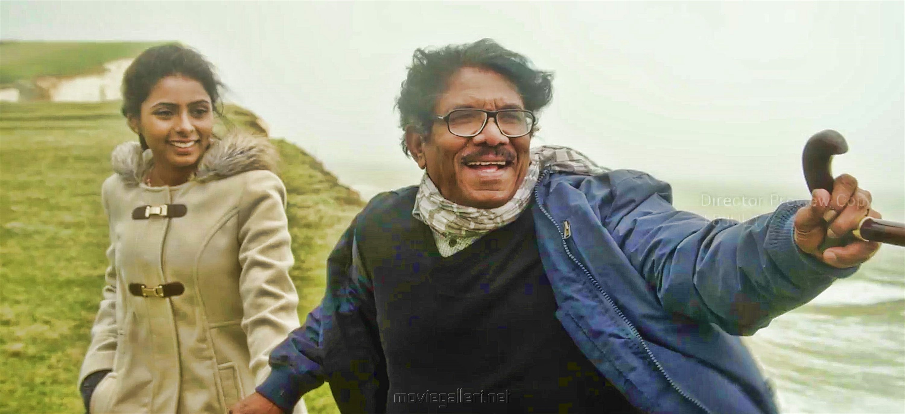 Rasi Nakshatra, Bharathiraja in Meendum Oru Mariyadhai Movie Stills HD