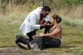 Ajay Krishna & Shobana Naidu in Meenkothi Movie Stills