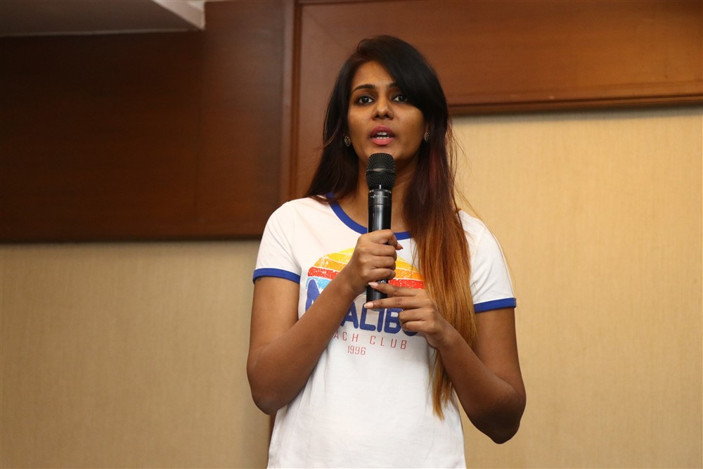 Miss Tamil Nadu Diva Meera Mitun Press Meet Stills