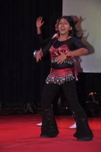 TV Anchor Priyadarshini at Mega Aadavar Awards 2012 Photos