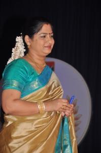 Meera Krishnan at Mega Aadavar Awards 2012 Photos