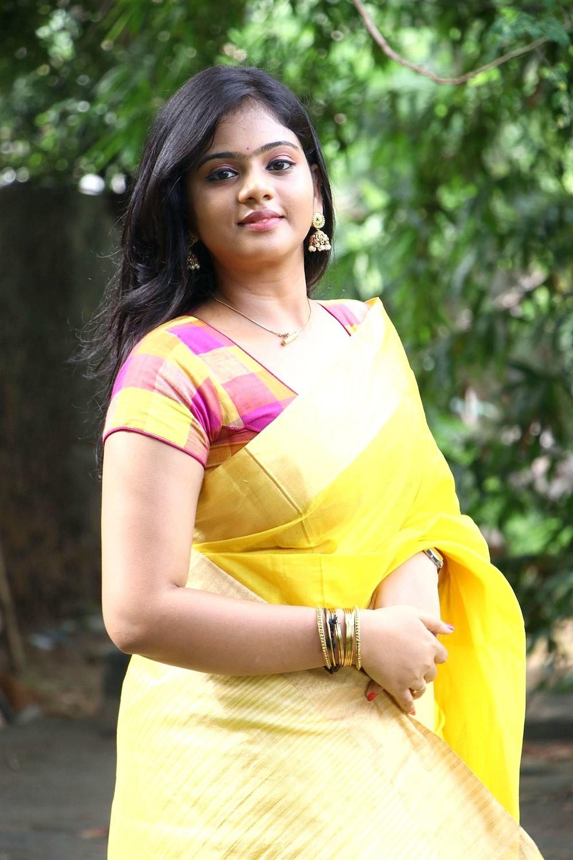 Tamil Actress Megana Photos @ Veerapuram 220 Audio Launch