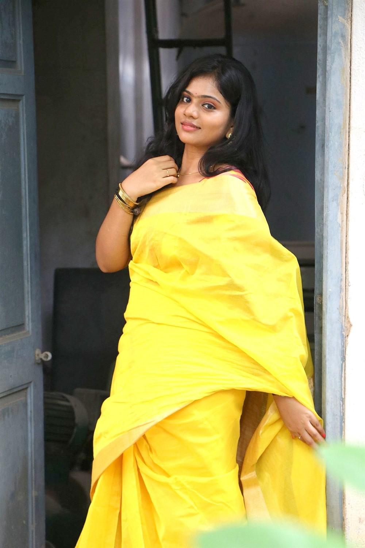 Veerapuram 220 Movie Actress Meghna Saree Photos