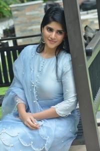 Dear Megha Movie Actress Megha Akash Interview Pictures