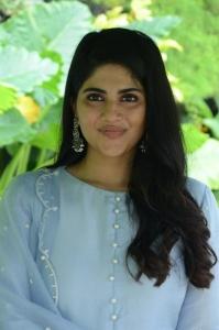 Heroine Megha Akash Pictures @ Dear Megha Movie Interview