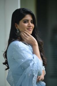 Dear Megha Movie Heroine Megha Akash Interview Pictures