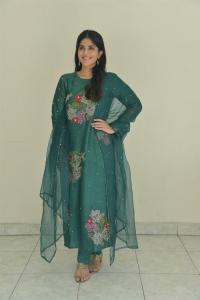 Dear Megha Akash Green Salwar Kameez Pics